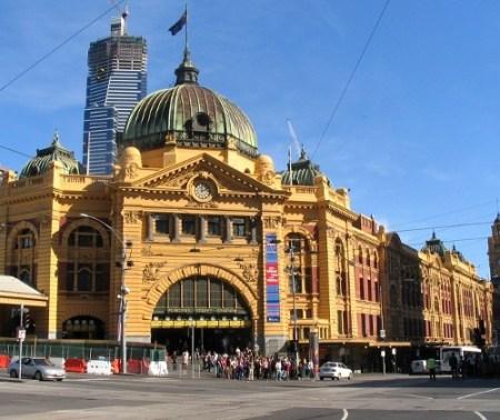 Melbourne, stacja Flinders Street