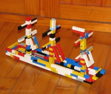 Statek z Lego