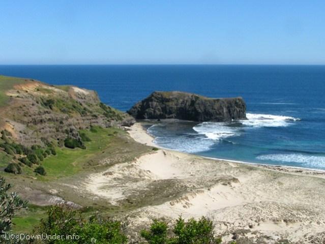 Elephant Rock, Bushrangers Bay Beach, Mornington Peninsula, Wiktoria, Australia