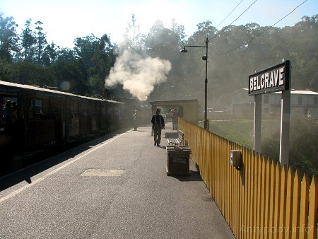 Puffing Billy - stacja Belgrave
