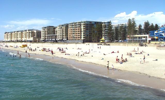 Plaża Glenelg, Adelajda, Australia