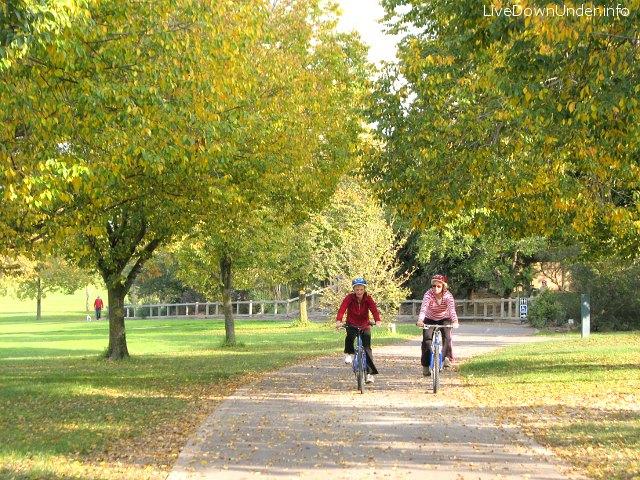 Jesień w Australii, Jells Park, Melbourne