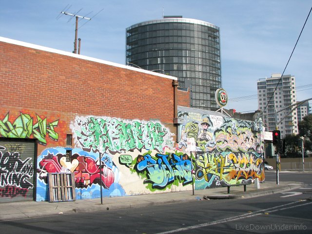graffiti, Windsor, Wiktoria, Australia