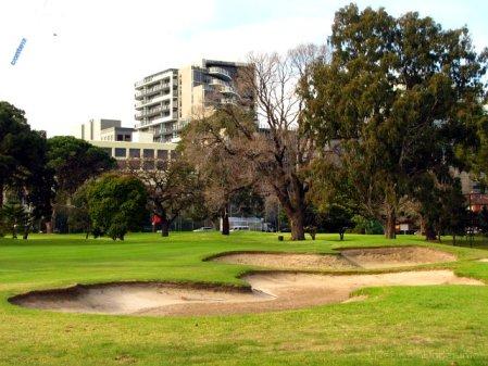 Pole golfowe w Albert Park