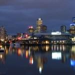 Zimowe Docklands