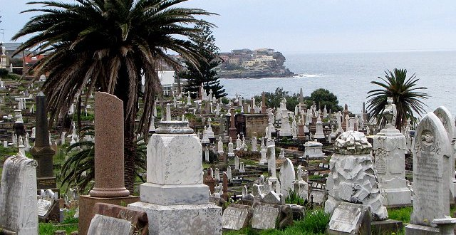 Cmentarz Waverley, Sydney, Australia