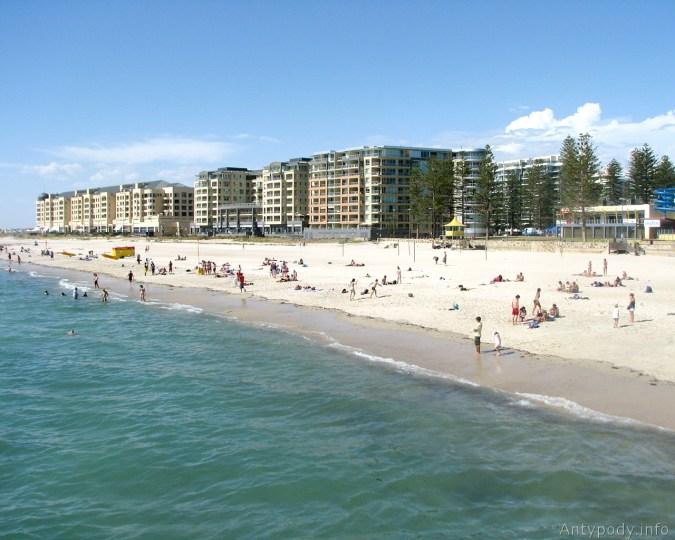 Glenelg Beach, Adelajda, Australia, tapety na pulpit