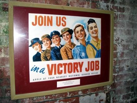 plakat propagandowy, Point Nepean, Victoria, Australia