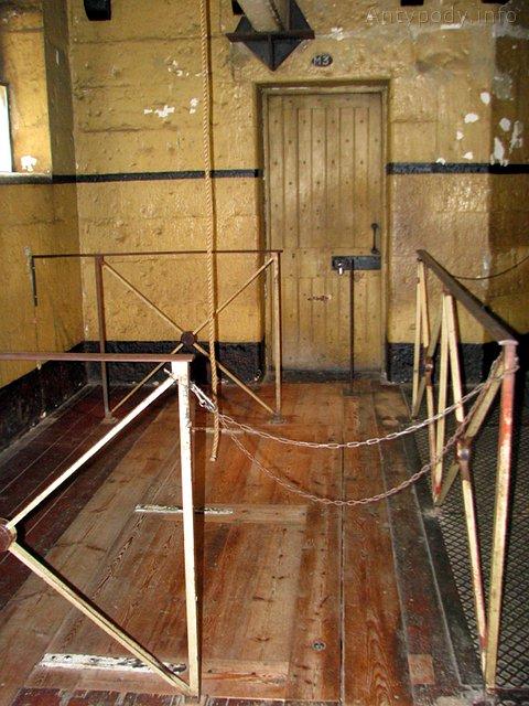 szubienica, stare więzienie w Melbourne, Australia