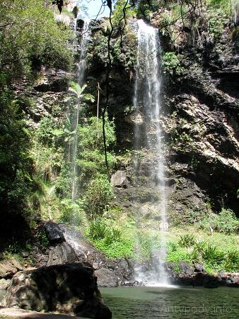 Twin Falls, Springbrook National Park, Queensland, Australia