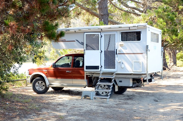 ute/caravan, Mogareeka, NSW, Australia