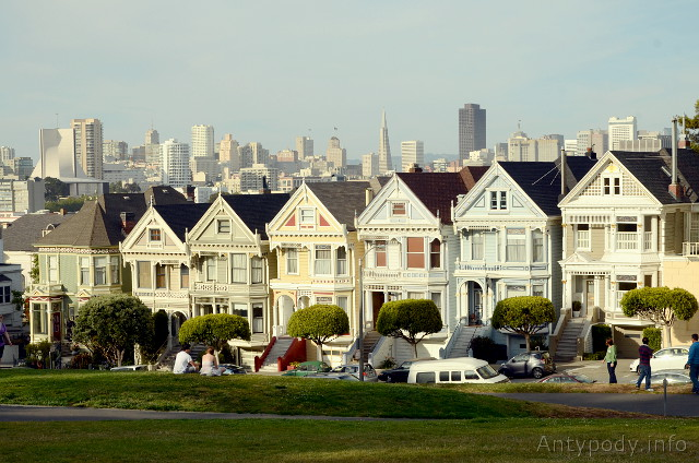 Painted Ladies, San Francisco, Kalifornia