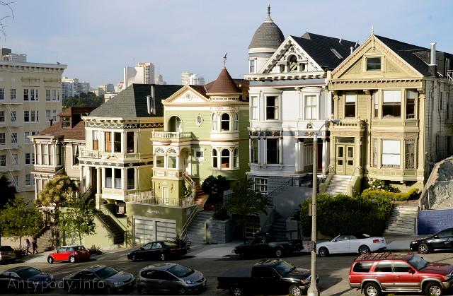 Painted Ladies, San Francisco, Kalifornia