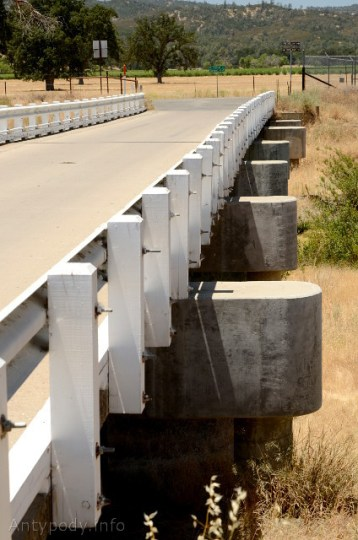 Most w Parkfield, Kalifornia, USA