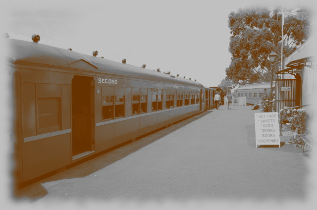 kolejka parowa Castlemaine-Maldon, Wiktoria, Australia