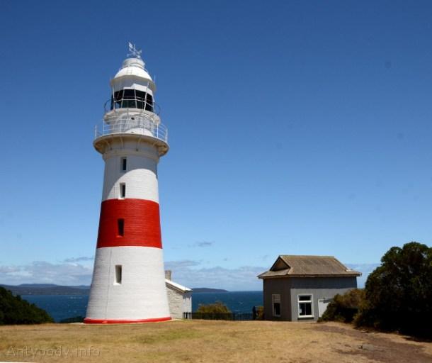 latarnia morska w Low Head, Tasmania, Australia