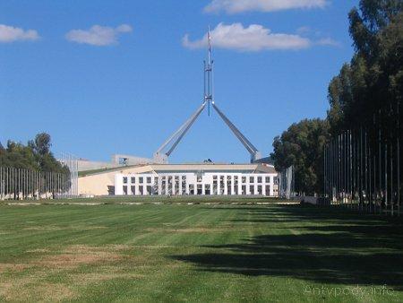 Canberra, stolica Australii, budynek parlamentu