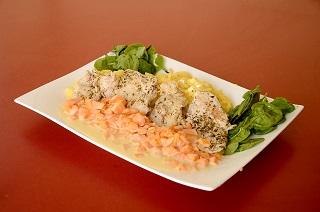 kurczak z parowaru, szybki obiad