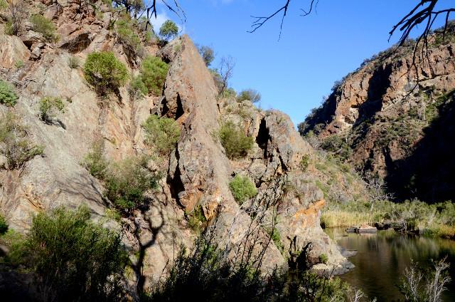 Werribee Gorge, Wiktoria, Australia