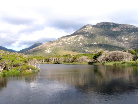 Tital River i Mount Oberon, Wilsons Promontory, Australia