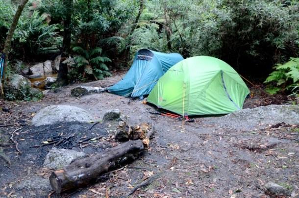 Roaring Meg campsite
