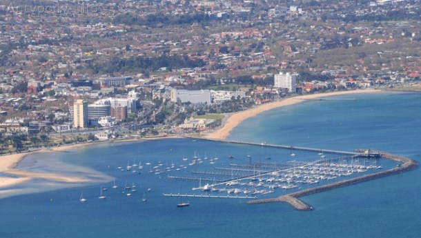 Melbourne z lotu ptaka: St Kilda
