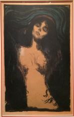 Madonna - Edvard Munch, 1895 - 1902