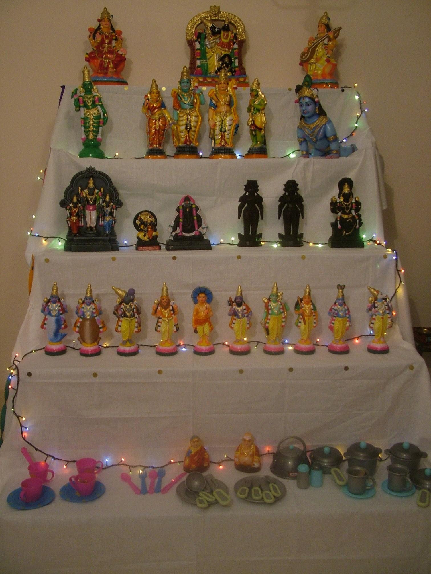 Golu Dolls - Navarathri