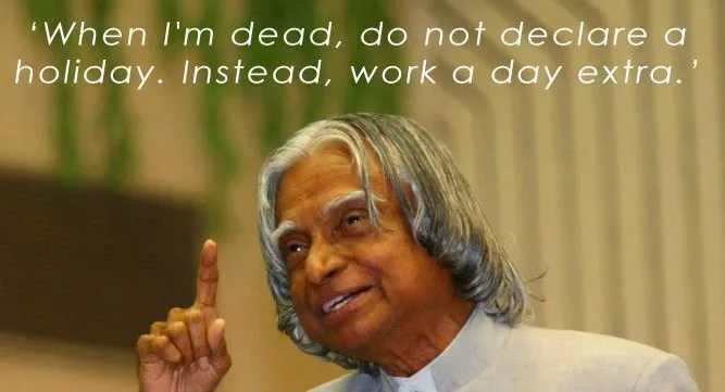 Original Life Quotes Of Abdul Kalam