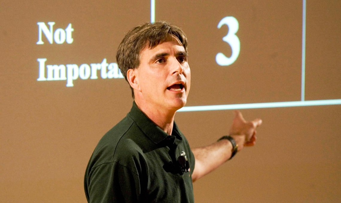 Randy Pausch: The Last Lecture - Part Two