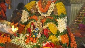Ayyappa Swami Padi pooja - Alnkarana