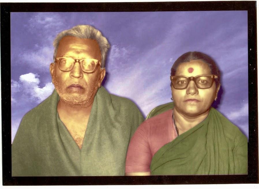 Late Sri Shankar panthulu - Kamala bhai