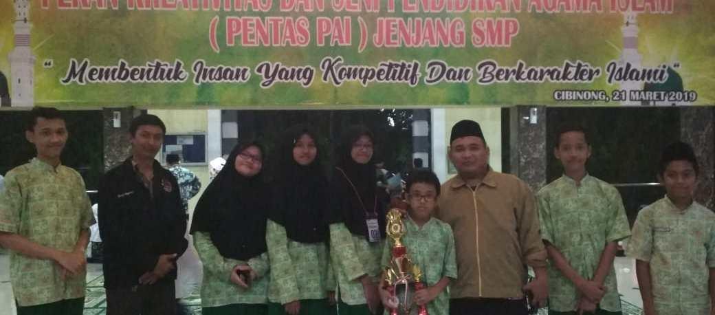 Juara 3 Lomba LCC Pentas PAI Kabupaten Bogor