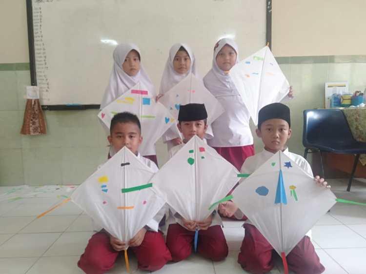 Dokumentasi Rangkaian Kegiatan Pembelajaran Pembuatan Handy Craft SD Islam Anugerah Insani