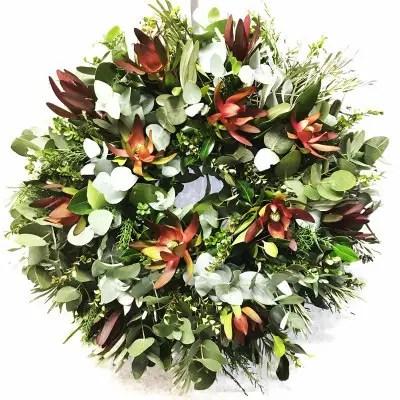 Festive Foilage Wreath