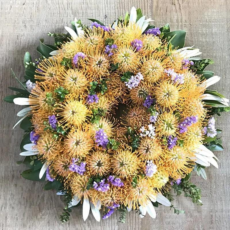 Maui Sunshine Wreath
