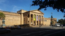 Exterior of Art Gallery of NSW