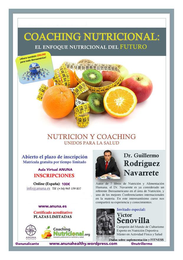 Curso Online Coaching Nutricional