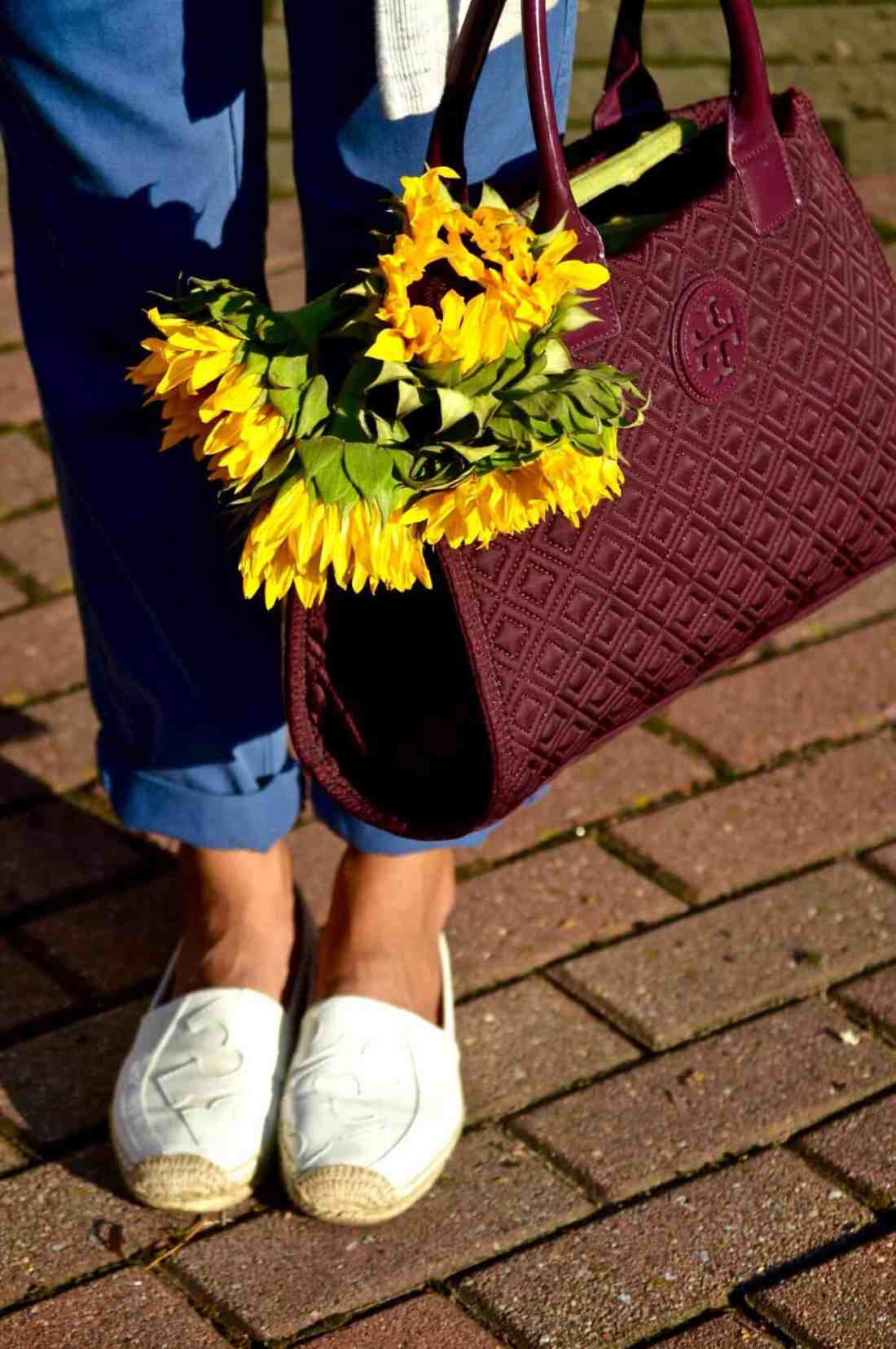 tory burch shoes and bag