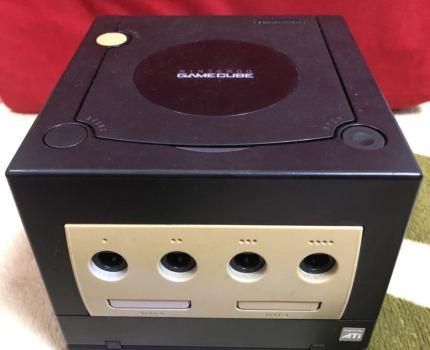任天堂 Nintendo ゲームキューブ 黒 ゲームボーイプレーヤー スタートアップディスク 配線