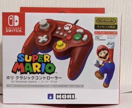 ホリクラシックコントローラー for Nintendo Switch スーパーマリオ 任天堂 ニンテンドースイッチ
