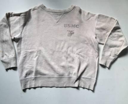 ザリアルマッコイズ/THE REAL McCOYS/旧マッコイズ/ビンテージ古着/405060s/両Vガゼット/スウェットシャツ/トレーナー/USMC/アメリカ軍大戦