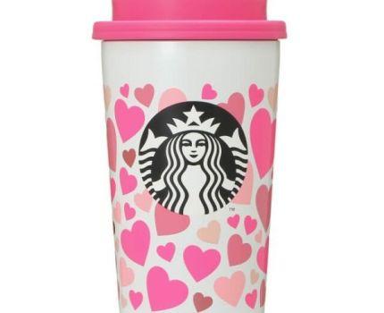 新品・未使用 ★ STARBUCKS スターバックス スタバ ★ バレンタイン2021 ステンレスTOGOカップ タンブラーハート355ml ★ 完売品