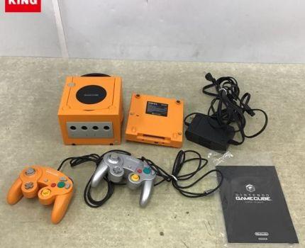 1円~ 箱無 ニンテンドー ゲームキューブ DOL-001(JPN)、ゲームボーイプレーヤー DOL-017、コントローラー、ACアダプター等 / GC