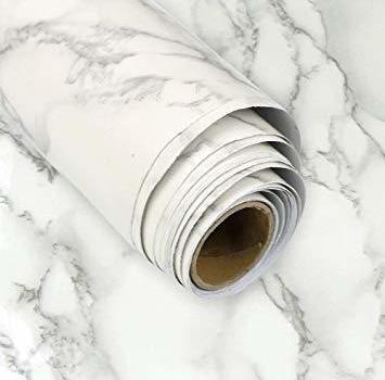 グレー TAKARAFUNE 壁紙シール 大理石 インテリア リフォーム 多用途 ウォールステッカー 石目調カッティングシート