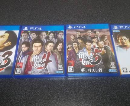 【PS4】龍が如く3 4 5 6