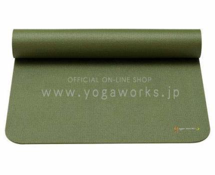 新品色カクタス Yogaworks(ヨガワークス) ヨガマット 6mm カクタス YW-A102-C11022CH