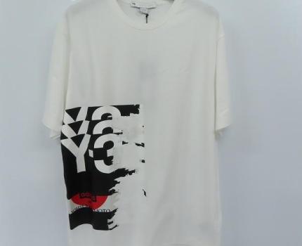 ☆【未使用】Y-3/ワイスリー ヨウジヤマモト×アディダス 20SS GFX SS TEE 半袖Tシャツ GK4389/M /LPL
