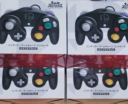 未開封/ニンテンドー ゲームキューブ コントローラ スマブラブラック 6個セット ニンテンドースイッチ Switch