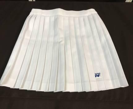 YONEXヨネックス◆白 プリーツ テニス スコート ウエスト61サイズ